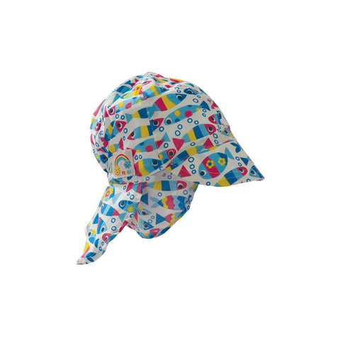 Hats - Frugi Legionnaires Hat - Bubble Fish