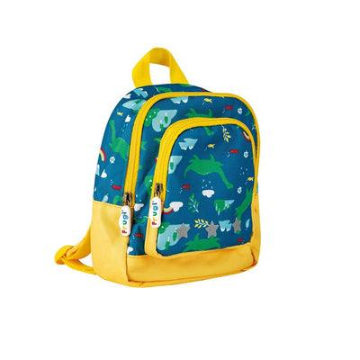 Frugi Little Adventurers Backpack - Loch Blue Nessie-Children's Bags-Loch Blue Nessie- Natural Baby Shower