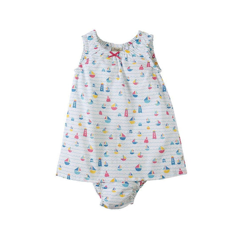 Dresses - Frugi Pretty Dress Set - Sailaway
