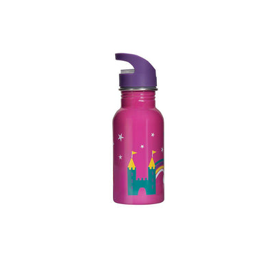 Frugi Splish Splash Steel Bottle - Dragon-Drinking Bottles-Dragon- Natural Baby Shower