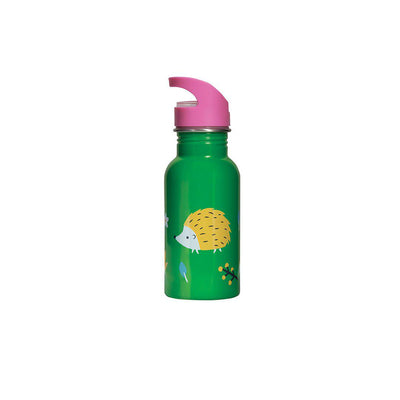 Frugi Splish Splash Steel Bottle - Hedgehogs-Drinking Bottles-Hedgehogs- Natural Baby Shower