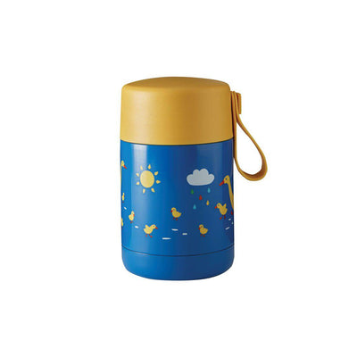 Frugi Yummy Insulated Food Flask - Runner Ducks-Food Storage-Runner Ducks- Natural Baby Shower