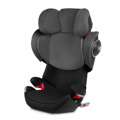 gb Elian-Fix Car Seat - Monument Black-Car Seats- Natural Baby Shower