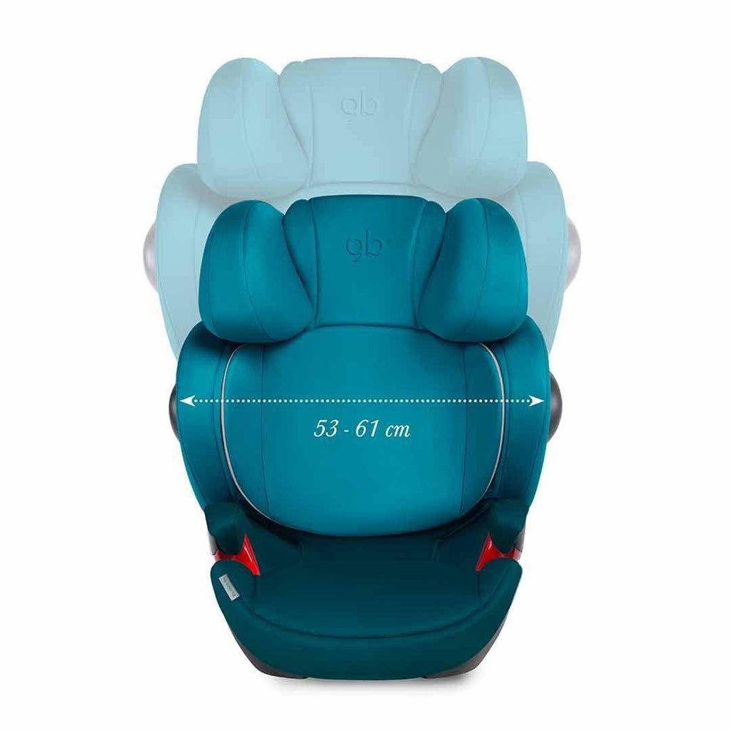gb Elian-Fix Car Seat in Monument Black – Natural Baby Shower