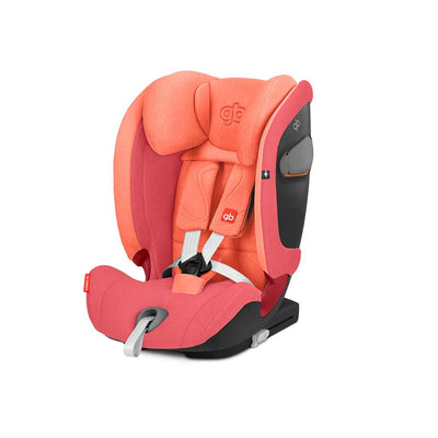 gb Everna-Fix Car Seat - Rose Red-Car Seats- Natural Baby Shower