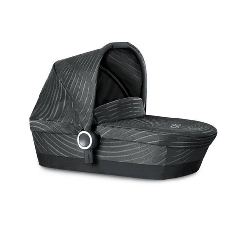gb Maris 2 Carrycot - Lux Black-Carrycots- Natural Baby Shower