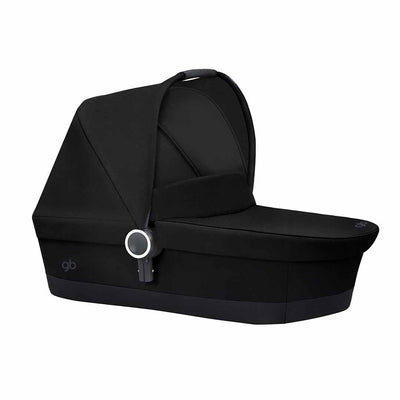 gb Maris 2 Carrycot - Satin Black-Carrycots- Natural Baby Shower