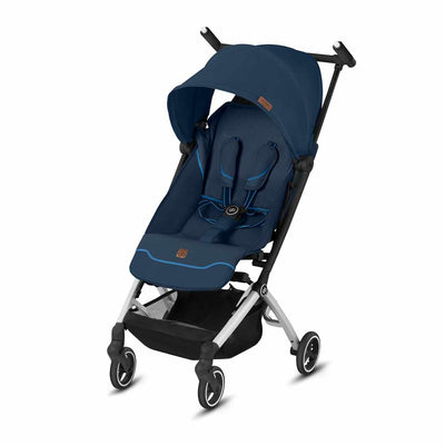 gb Pockit + Fashion Edition Pushchair - Night Blue-Strollers- Natural Baby Shower