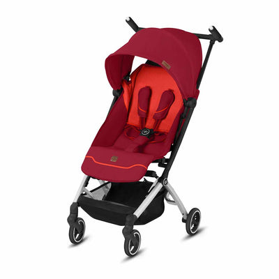 gb Pockit + Fashion Edition Pushchair - Rose Red-Strollers- Natural Baby Shower
