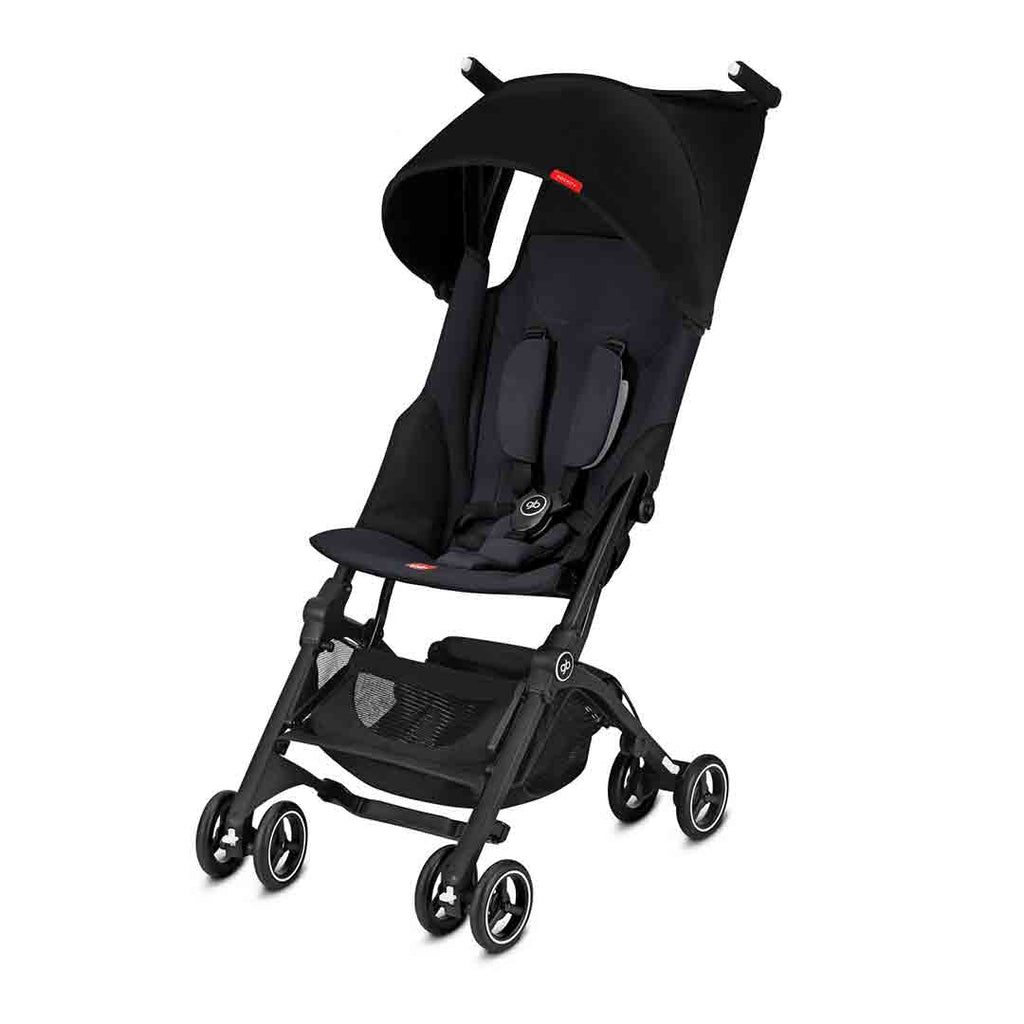 gb Pockit+ Pushchair - Satin Black