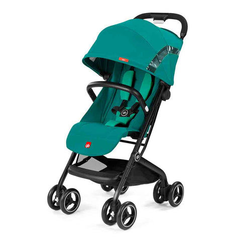 gb Qbit Pushchair - Laguna Blue-Strollers- Natural Baby Shower