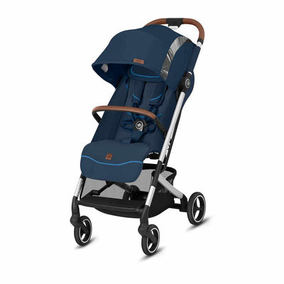 gb Qbit+ Fashion Edition Pushchair - Night Blue-Strollers-All City- Natural Baby Shower