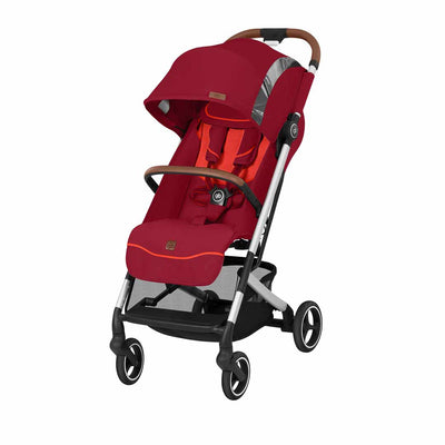 gb Qbit+ Fashion Edition Pushchair - Rose Red-Strollers-All City- Natural Baby Shower