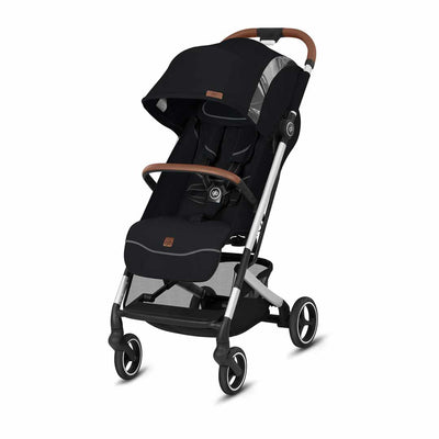 gb Qbit+ Fashion Edition Pushchair - Velvet Black-Strollers-All City- Natural Baby Shower