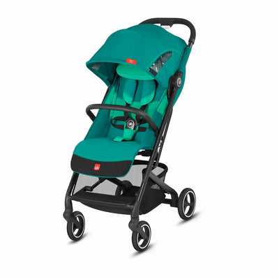 gb Qbit+ All City Pushchair - Laguna Blue-Strollers-All City- Natural Baby Shower