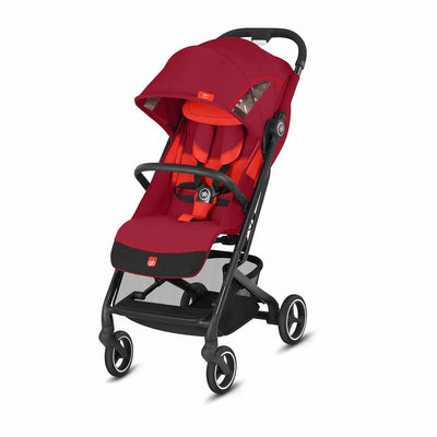 gb Qbit+ All City Pushchair - Rose Red-Strollers-All City- Natural Baby Shower