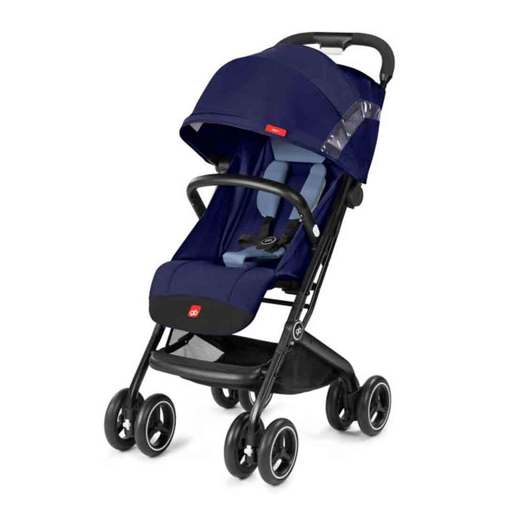 gb Qbit+ Pushchair - Sapphire Blue-Strollers- Natural Baby Shower