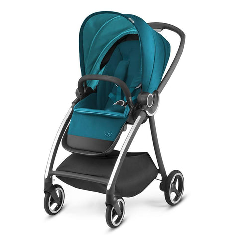 gb Maris Pushchair - Capri Blue - Strollers - Natural Baby Shower
