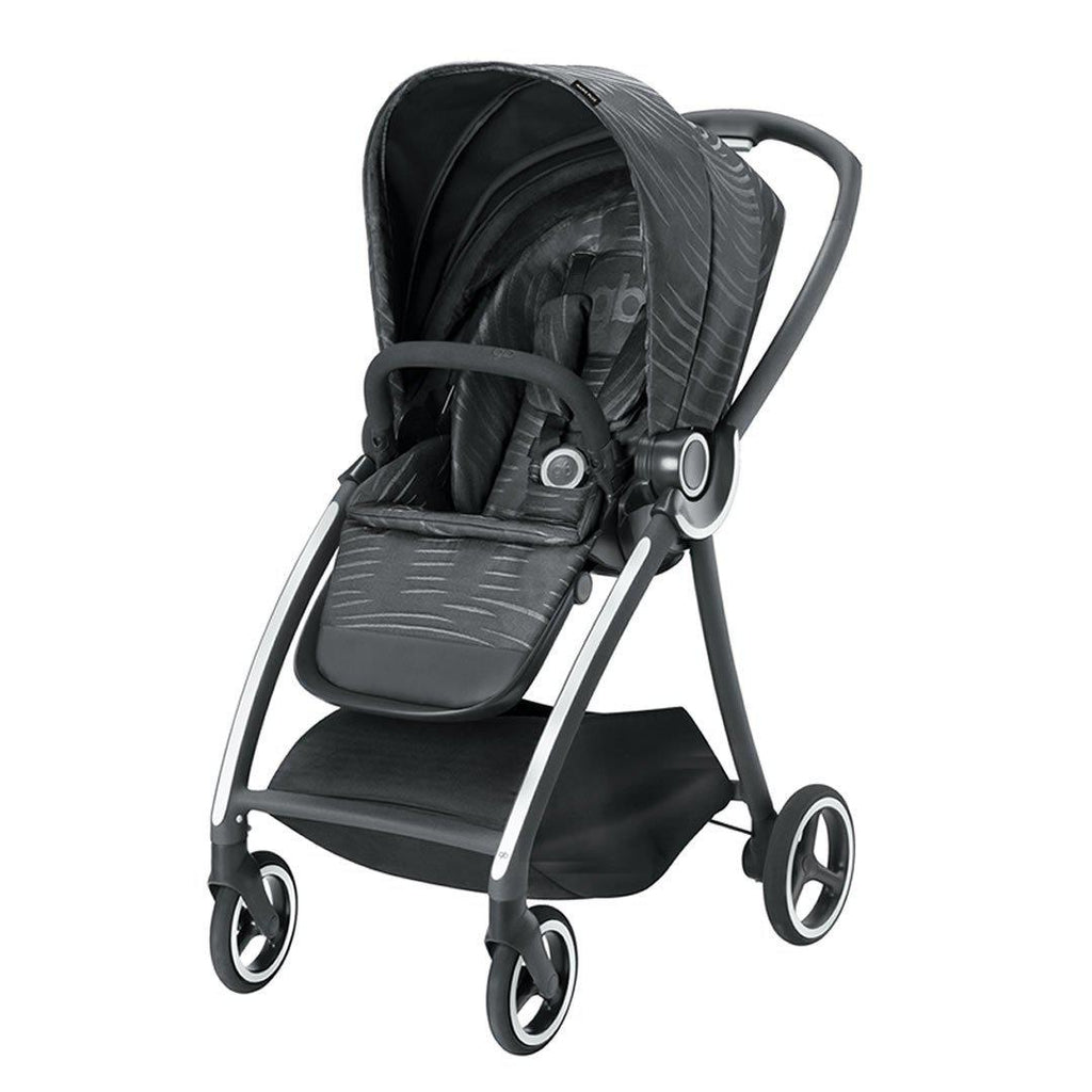 gb Maris Pushchair - Lux Black - Strollers - Natural Baby Shower