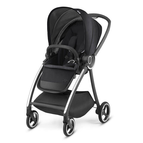 gb Maris Pushchair - Monument Black - Strollers - Natural Baby Shower