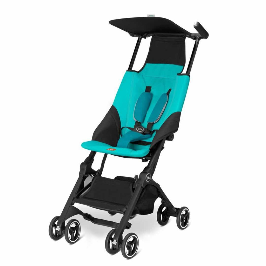 gb Pockit Pushchair - Capri Blue - Strollers - Natural Baby Shower