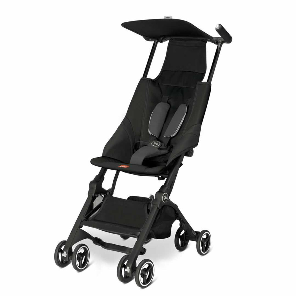 gb Pockit Pushchair in Monument Black