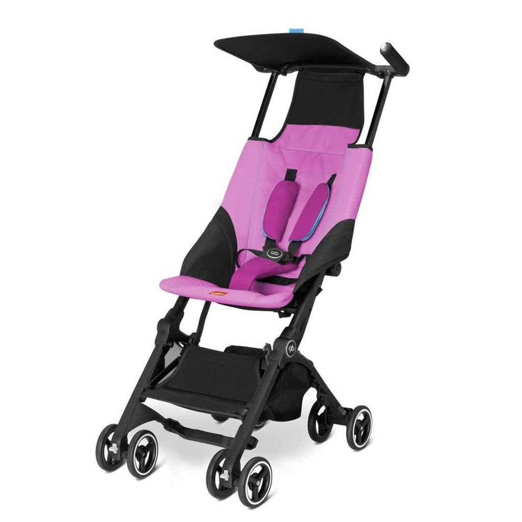 gb Pockit Pushchair in Posh Pink