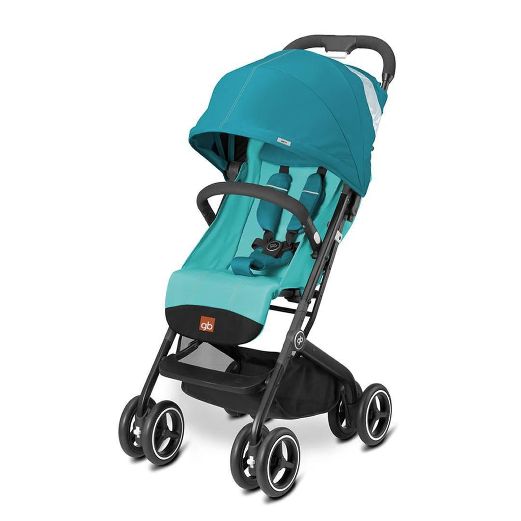 gb Qbit Plus Pushchair - Capri Blue - Strollers - Natural Baby Shower