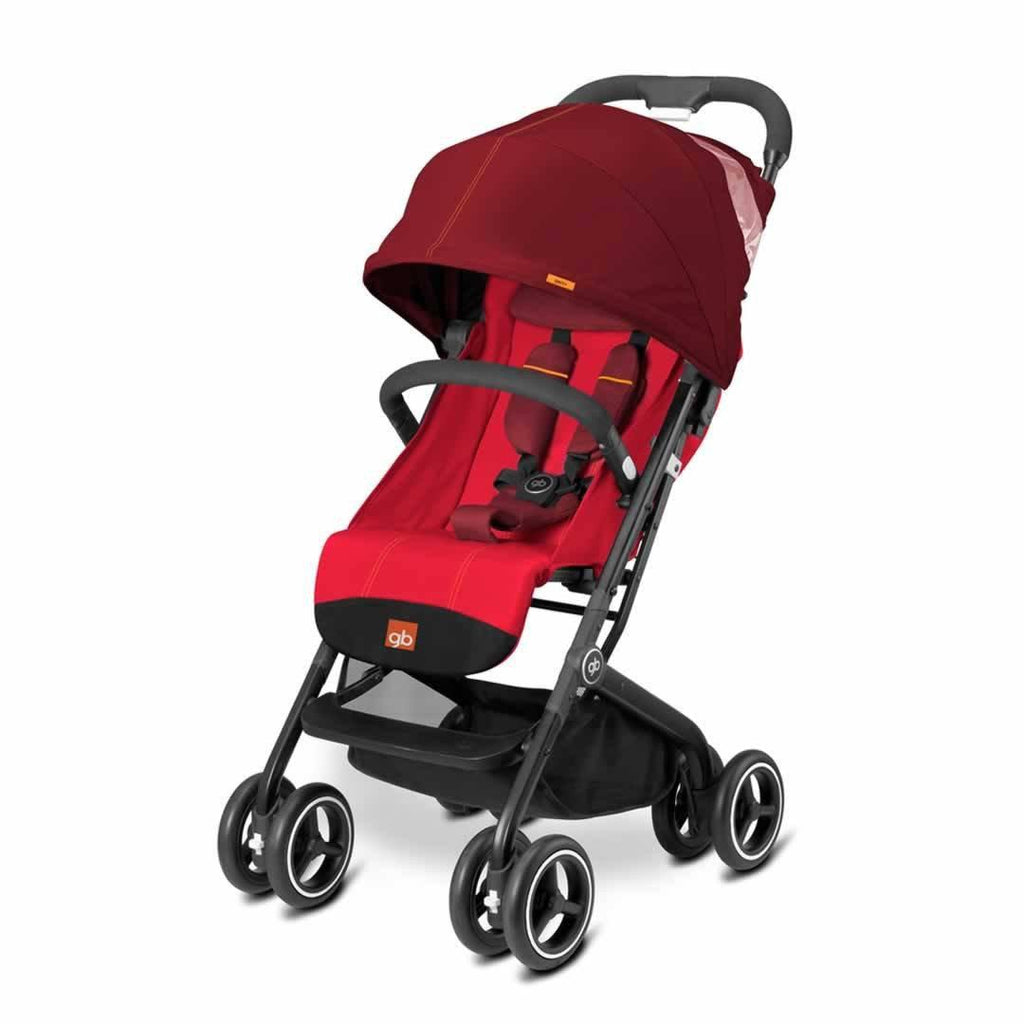 gb Qbit Plus Pushchair - Dragonfire Red - Strollers - Natural Baby Shower