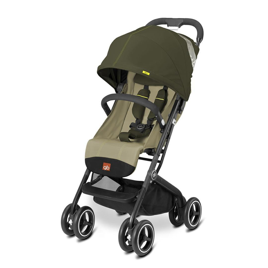 gb Qbit Plus Pushchair in Lizard Khaki