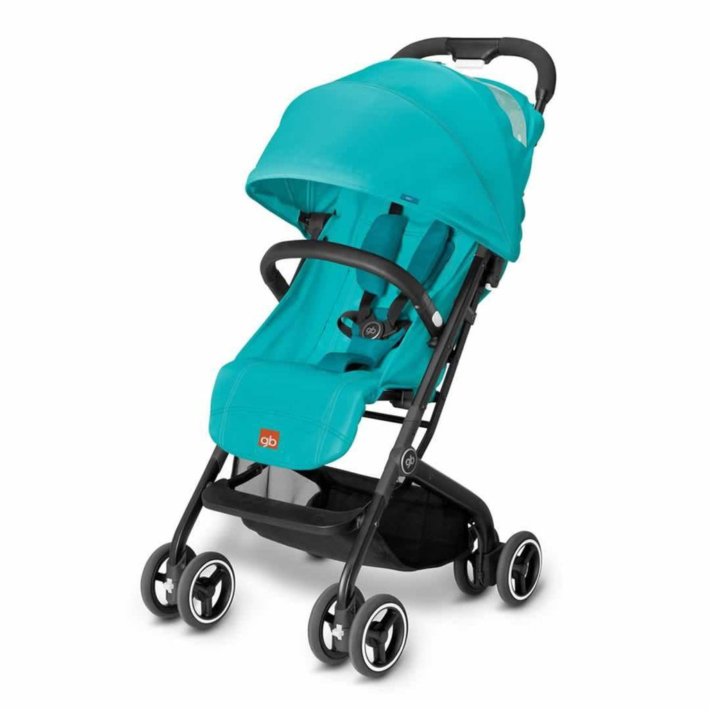 gb Qbit Pushchair - Capri Blue - Strollers - Natural Baby Shower