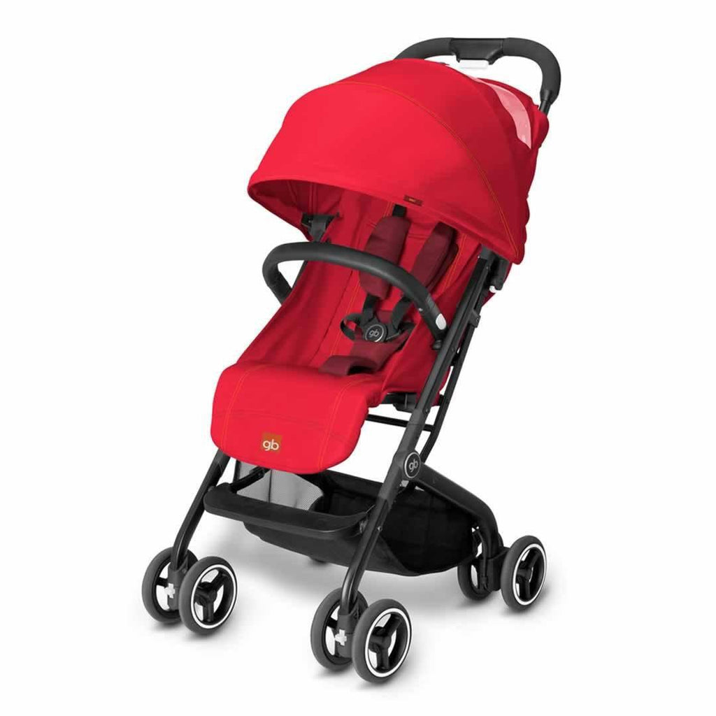 gb Qbit Pushchair - Dragonfire Red - Strollers - Natural Baby Shower