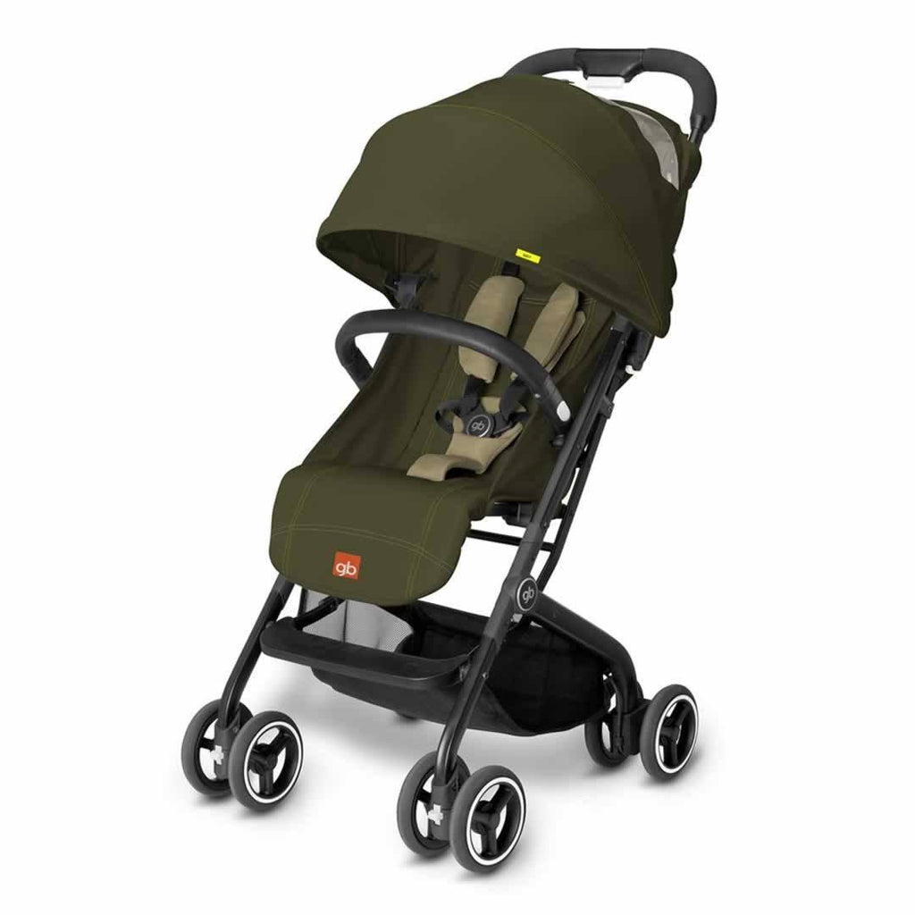 gb Qbit Pushchair in Lizard Khaki