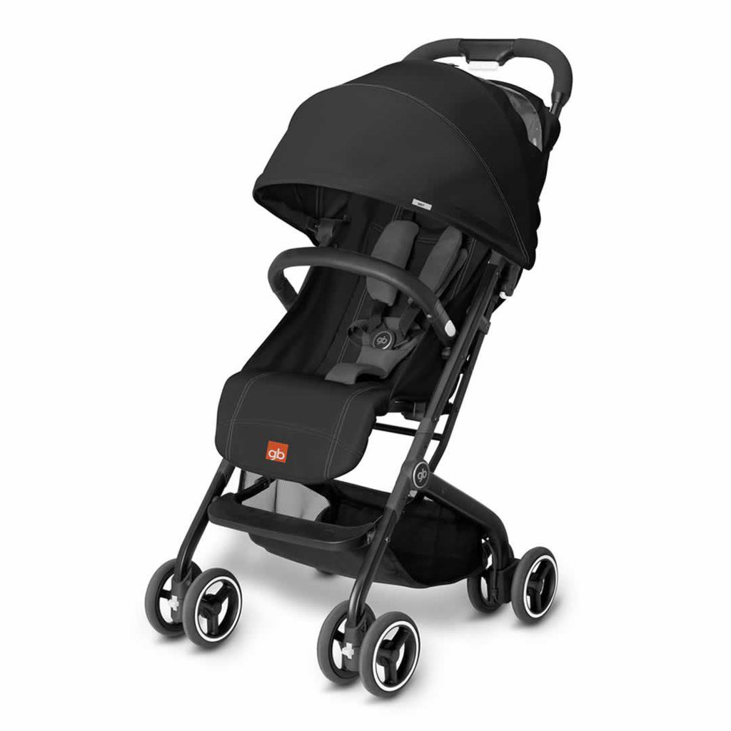 gb Qbit Pushchair - Monument Black - Strollers - Natural Baby Shower