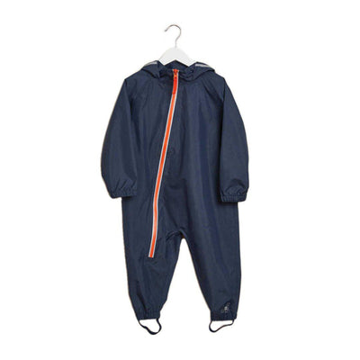 Grass & Air Stomper Suit - Navy/Orange-Coats & Snowsuits- Natural Baby Shower
