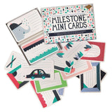 Milestone Mini Cards - Greeting Cards - Natural Baby Shower