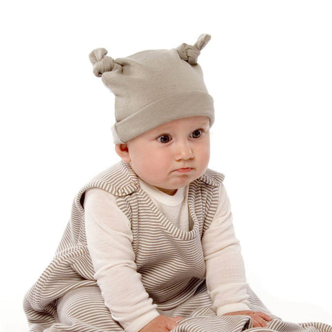 Hats - Bambino Merino Double Knotted Beanie - Sage