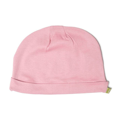 Nui Organics Merino Beanie - Thermals - Rose - Hats - Natural Baby Shower