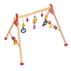 Heimess Wooden Baby Gym - Ducks