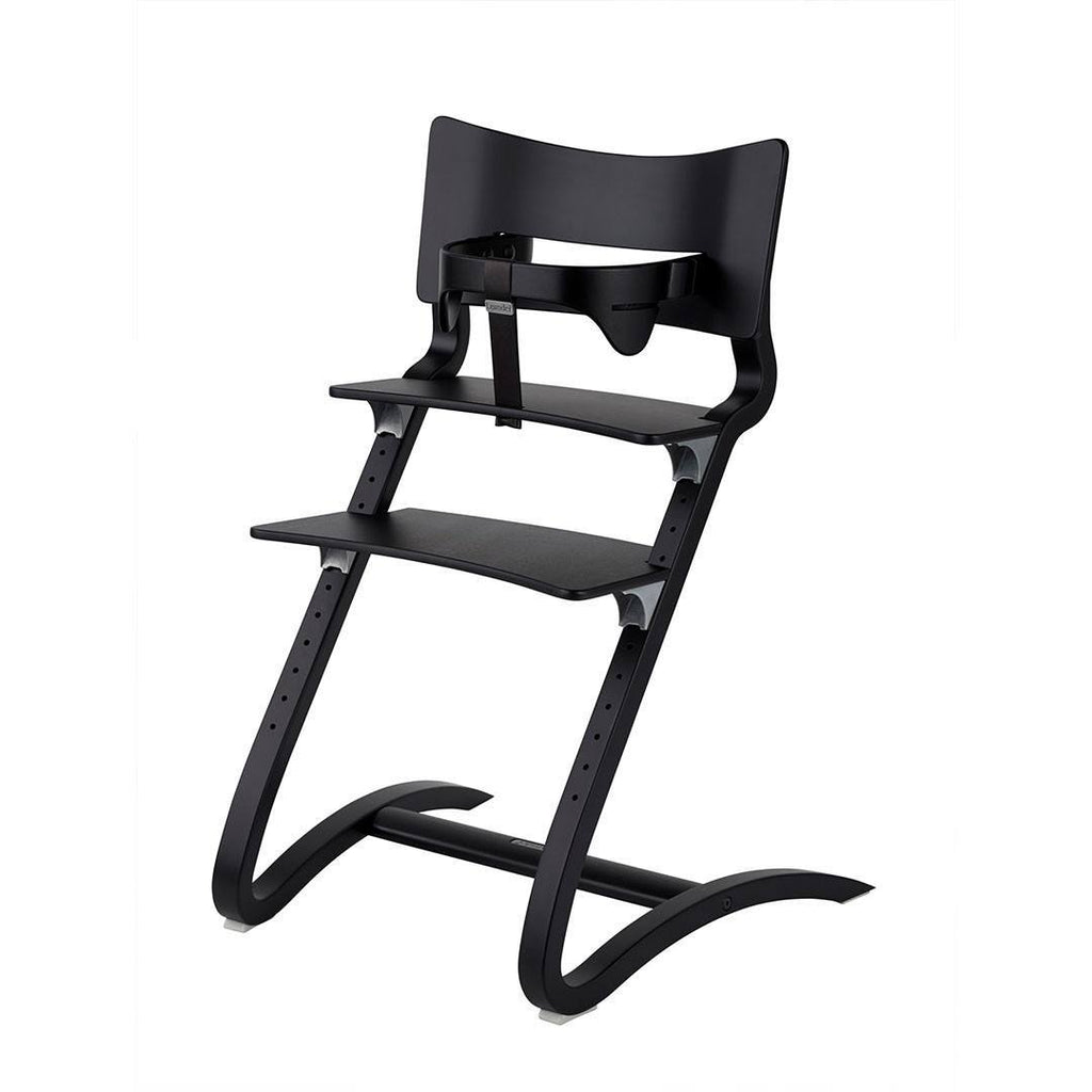 Leander High Chair With Safety Bar   Black   High Chairs   Natural Baby  Shower ...