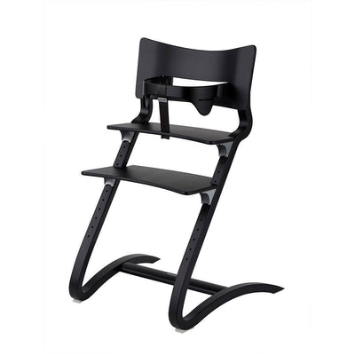 Leander Highchair with Safety Bar - Black-Highchairs-Default- Natural Baby Shower