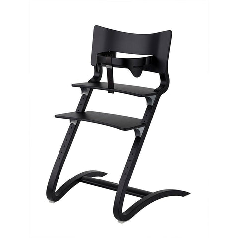 Leander High Chair with Safety Bar - Black-High Chairs-Default- Natural Baby Shower