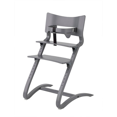 Leander High Chair with Safety Bar - Grey-High Chairs-Default- Natural Baby Shower