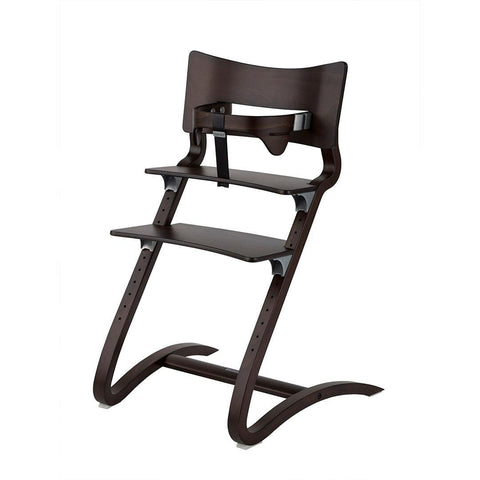 High Chairs - Leander High Chair With Safety Bar - Walnut