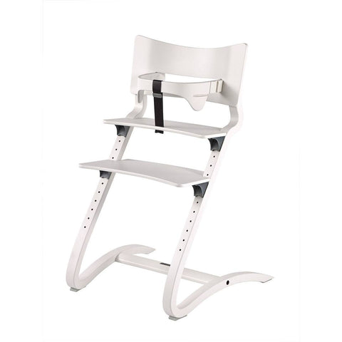 High Chairs - Leander High Chair With Safety Bar - White