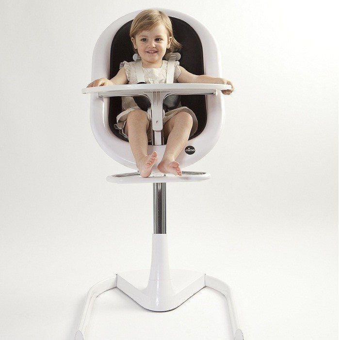 Mima Moon Footrest-High Chair Safety Bars- Natural Baby Shower