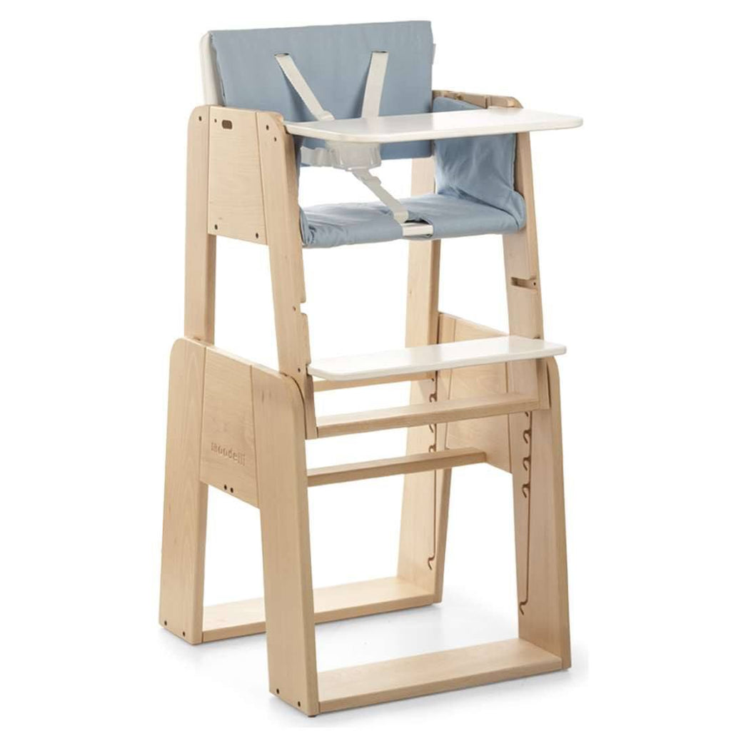 High Chairs - Moodelli Growi Highchair - Fully Equipped