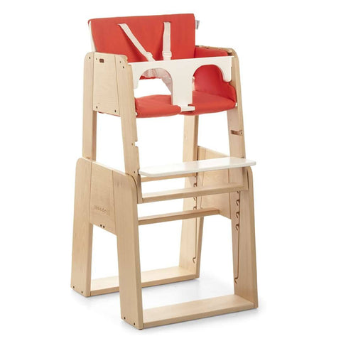 moodelli Growi Highchair Set 6m with Cushion - High Chairs - Natural Baby Shower