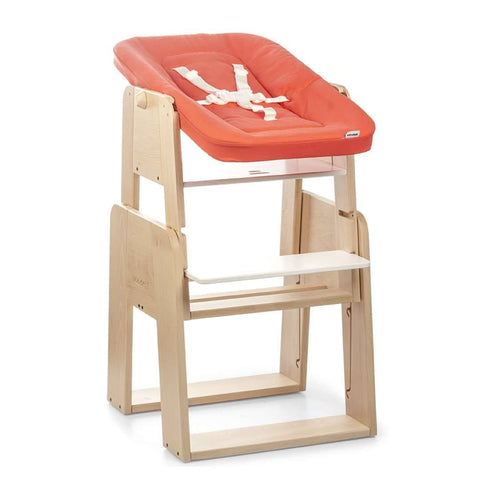 moodelli Growi Highchair + Wood Frame with Cushion - High Chairs - Natural Baby Shower