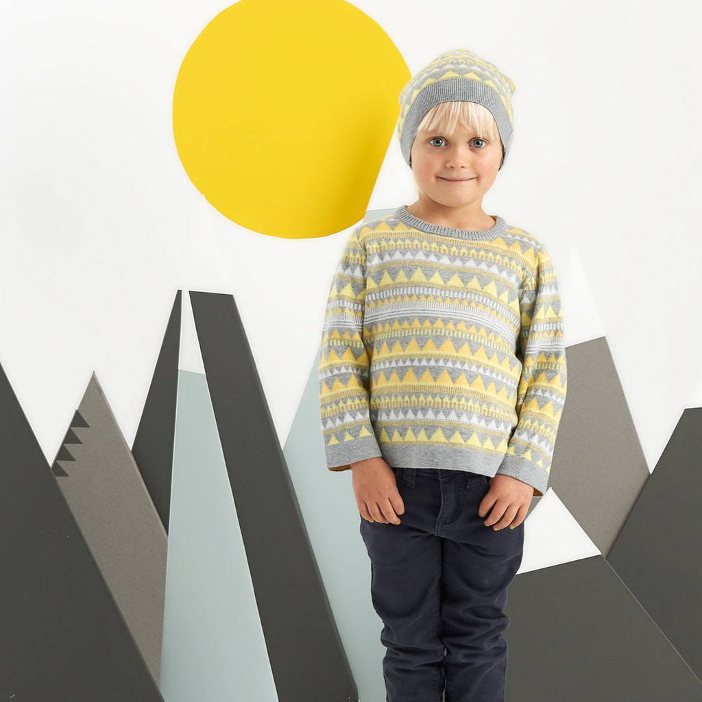 Hoodies & Cardigans - Bonnie Baby Brio Sweater - Yellow